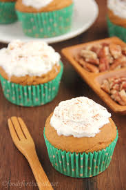 butterscotch filled pumpkin cupcakes with whipped cream amy u0027s
