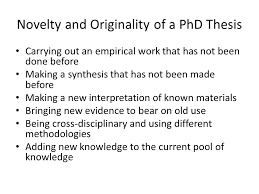 Structuring a PhD Thesis Ismail Said School of Graduate Studies