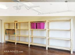 Wall Mounted Shelves Wood Plans by Best 25 Garage Shelving Plans Ideas On Pinterest Building