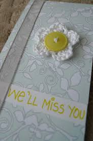 Handmade Farewell Invitation Cards 14 Best Goodbye U0026 Congratulations Images On Pinterest Farewell