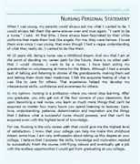 Writing a Personal Statement for Nursing School How to write your nursing personal statement