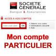 Société Générale Particuliers : Mon compte | Info du jour en France