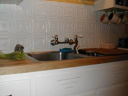 Wondrous Tin Tiles For Backsplash In Kitchen  Tin Tiles For - White tin backsplash