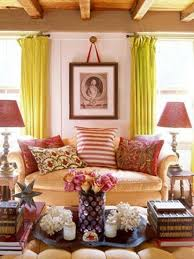 Country Living Room Curtains 15 Lively And Colorful Curtain Ideas For The Living Room Rilane