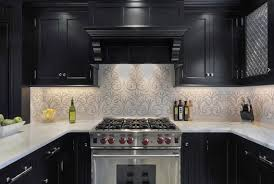 tapete kuchen retro grun kitchen walls backsplash marble kitchen