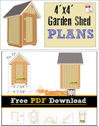Diy 10x12 Shed Plans Free by 29 Best Shed Plans Images On Pinterest Free Shed Plans Garden