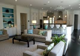 Interior Design Ideas For Living Room And Kitchen Best  Small - Best family room designs