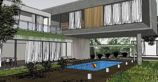 House 3d Model Free Download by Concrete Block House U0026 Visopt By Agus Guztie Suryanto 108