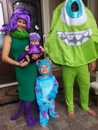 Halloween Costume Monsters Inc Sully Halloween Costume Coolest Diy Mike Wazowski And Celia Mae