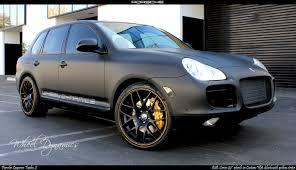 Porsche Cayenne Black - matt black porsche cayenne all pictures top