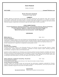 Administrative Assistant Resume Example Template Lab
