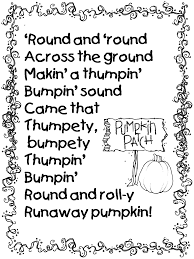 1st grade halloween party ideas pumpkin poem from runaway pumpkin book teacher ideas pinterest