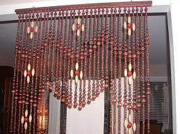 beaded room dividers wooden beaded curtain door or room divider wood beads new handmade