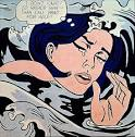 Drowning Girl, 1963 by Roy