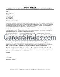 Child Care Cover Letter Samples Spanish Teacher Cover Letter Spanish Teacher Cover Letter Sample