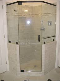 Walk In Shower Ideas For Small Bathrooms Corner Shower Bathrooms Beautifully Remodeled Bathroom In Reston