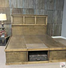 Build Your Own Platform Bed Base by Platform Bed With Storage Tutorial Platform Beds Bed Plans And