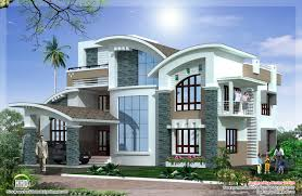 Modern Contemporary House Mix Luxury Home Design Kerala Home - Modern contemporary home designs