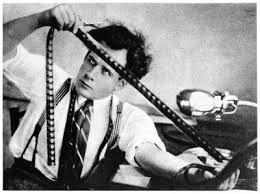 Eisenstein Editing a Film
