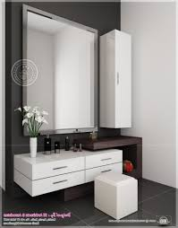 Space Saving Closet Ideas With A Dressing Table Master Bedroom Modern Vanity Table Built In House Pinterest