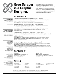 Resume Examples  Self Employed Graphic Designer Resume Example With Education In Bachelor Graphic Design And