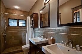Backsplash Bathroom Ideas Colors 28 Gorgeous Bathrooms With Dark Cabinets Lots Of Variety