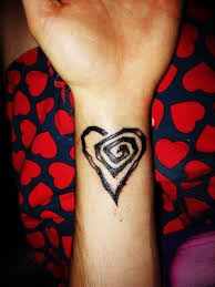Wrist Heart Tattoos Picture 2
