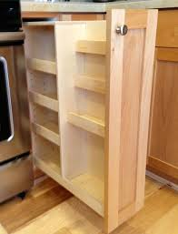 Kitchen Cabinets With Pull Out Shelves by Kitchen Pull Out Spice Rack Pots And Pans Cabinet