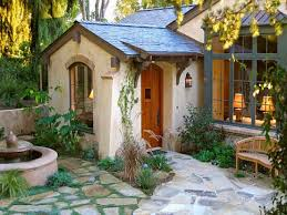 exterior voguish cottage style house with small cottage style