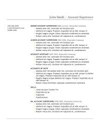Download Resume Cover Letter Download Resume Templates Account Manager Resume Examples