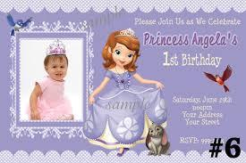 1st birthday princess invitation custom princess invitations