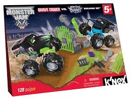 grave digger monster truck song amazon com k u0027nex monster jam grave digger versus son uva digger