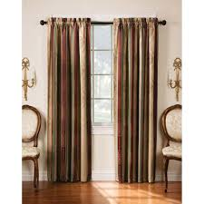 Blackout Curtain Panels Arlee Home Fashions Tuscan Stripe Jacquard Blackout Panel Pair