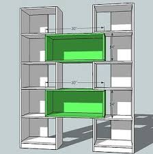 Free Wooden Bookcase Plans by Ana White Build A Puzzle Bookcase Free And Easy Diy Project