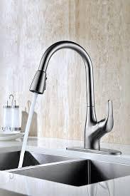 purelux tulip single handle contemporary design arc pull down