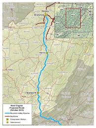Roanoke Virginia Map by Maps Mountain Valley Pipeline Project