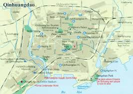 China City Map by Qinhuangdao City Map Qinhuangdao China Map Qinhuangdao Tour Guide