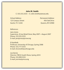 Sample Of A Resume Skills Additional Information And References