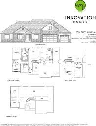 Garage Depth Cleveland Plan 4420 Sqft U2013 Innovation Homes