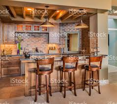 furnished bar in new luxury home stock photo 530932885 istock