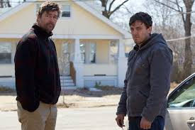 Oscar nominated Manchester by the Sea      gruelling      in a good way     ABC Kyle Chandler and Casey Affleck in the movie Manchester by the Sea