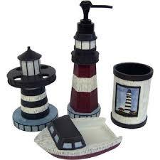 Coastal Bathroom Accessories by Best 25 Lighthouse Bathroom Ideas On Pinterest Nautical Theme