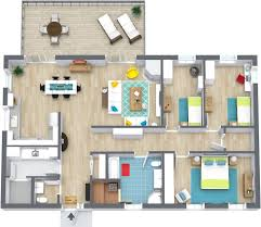 Small 3 Bedroom House Floor Plans by 3 Bedroom Floor Plans Roomsketcher