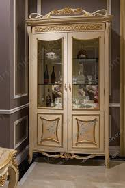 oval curio cabinet 4 doors living room cabinets with 3 glass