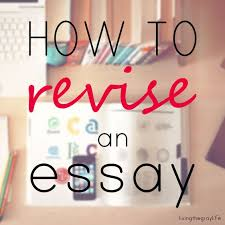 essay writing in college