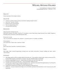 Cover Letter For Resume Resume Site Engineer Resume Reseme Outline Profile For Resume