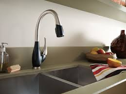 Lowes Delta Kitchen Faucets by Kitchen Lowes Delta Fuse Black Kitchen Faucets Kohler Kitchen