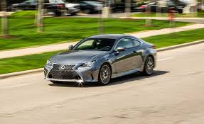 lexus sports car manual transmission 2017 lexus rc350 f sport rwd test review car and driver