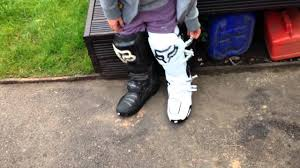 fox instinct motocross boots update on my fox instinct motocross boots youtube
