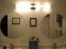 Bathroom Cabinet With Mirror And Light by Bathroom Wonderful Lowes Bathroom Lighting With Round Vanity